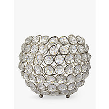 Buy John Lewis Crystal Bead Candle Bowl Online at johnlewis.com