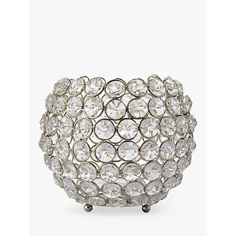 buy john lewis crystal bead candle bowl online at