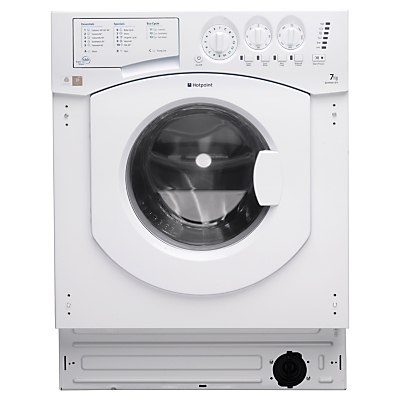 Hotpoint BHWM1492 Integrated Washing Machine 7kg Load A Energy Rating 1400rpm Spin