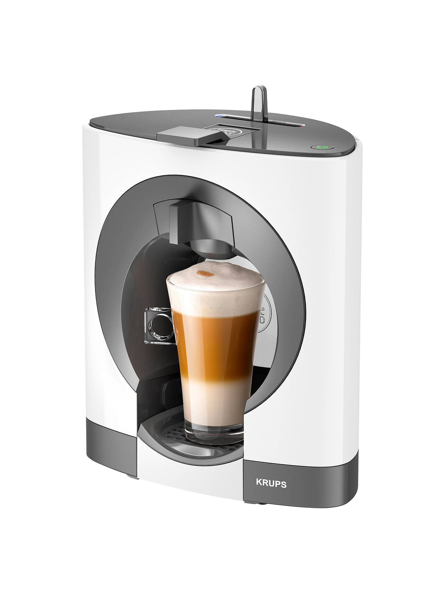 nescaf dolce gusto oblo manual by krups at john lewis partners. Black Bedroom Furniture Sets. Home Design Ideas