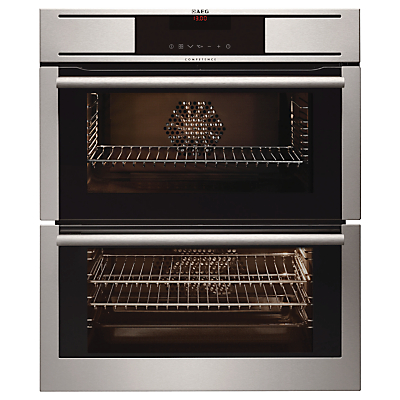 AEG NC7013001M Double BuiltUnder Oven Stainless Steel