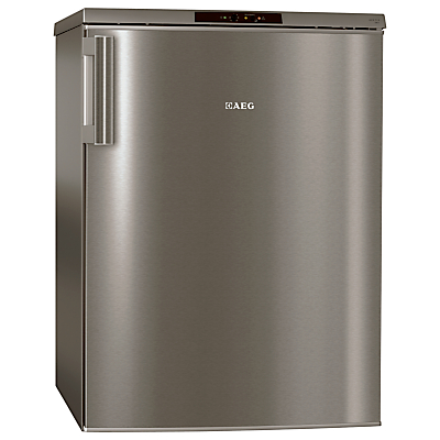 AEG A71101TSX0 Freezer A Energy Rating 60cm Wide Stainless Steel