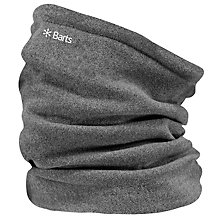 Buy Barts Fleece Col Neckwarmer, Grey Online at johnlewis.com
