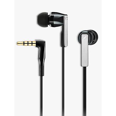 Image of Sennheiser CX 5.00 G In-Ear Headphones with Mic/Remote, Black