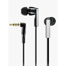 Buy Sennheiser CX 5.00 G In-Ear Headphones with Mic/Remote, Black Online at johnlewis.com