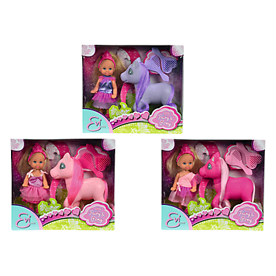 Product photo of Evi little fairy  pony dolls assorted