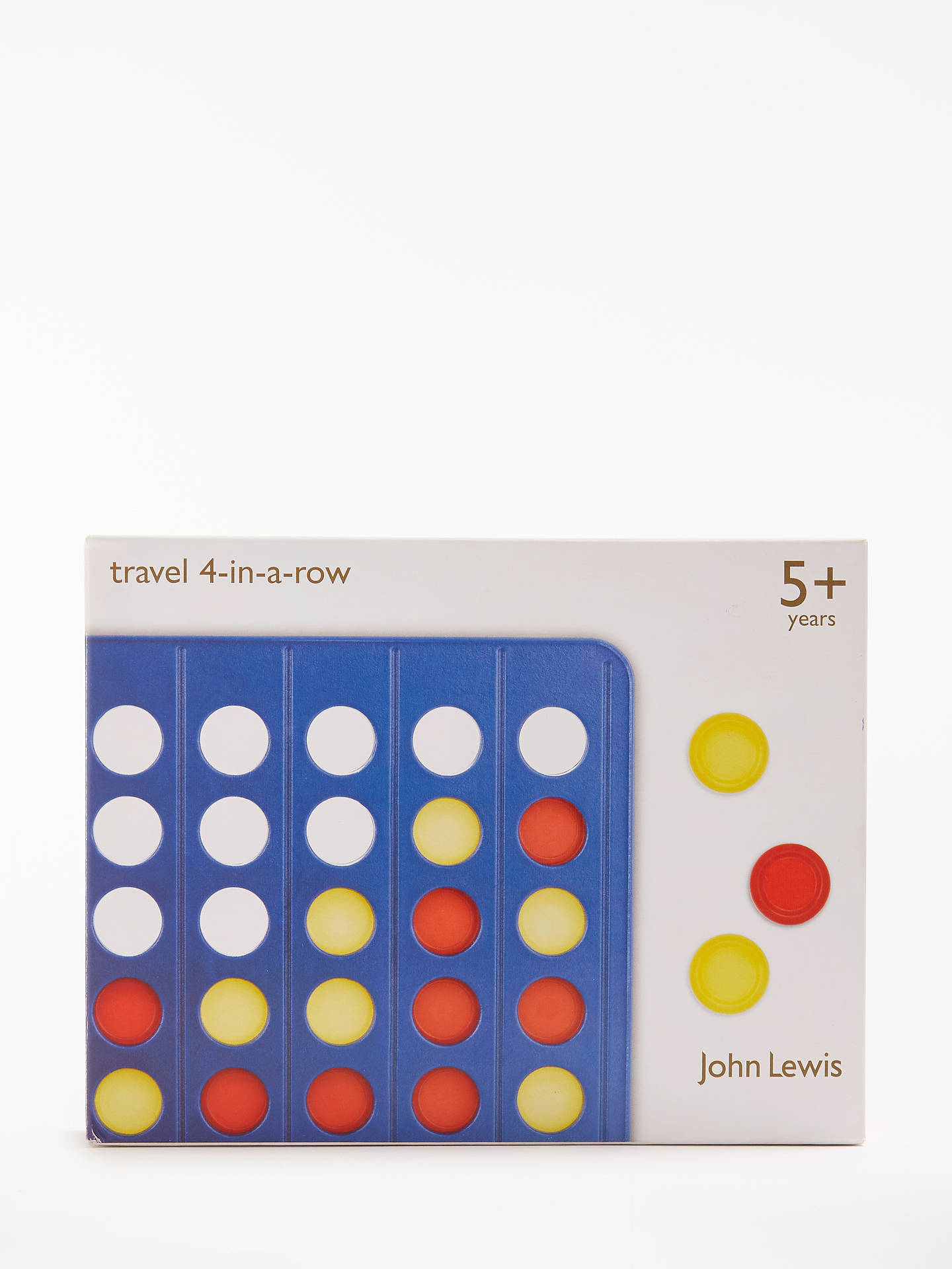 Buy John Lewis & Partners Four In A Row Travel Game Online at johnlewis.com