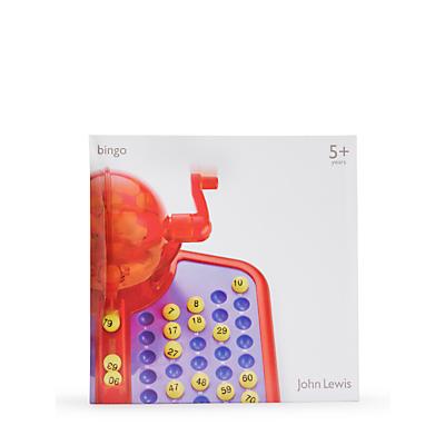 Image of John Lewis Bingo Game