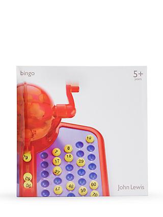 John Lewis & Partners Bingo Game