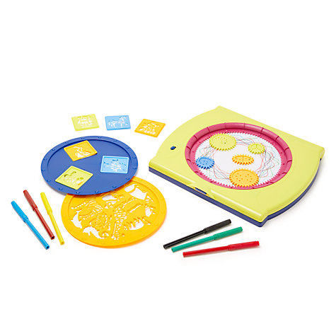 Buy John Lewis Mandala Drawing Toy & Stencil Set Online at johnlewis.com