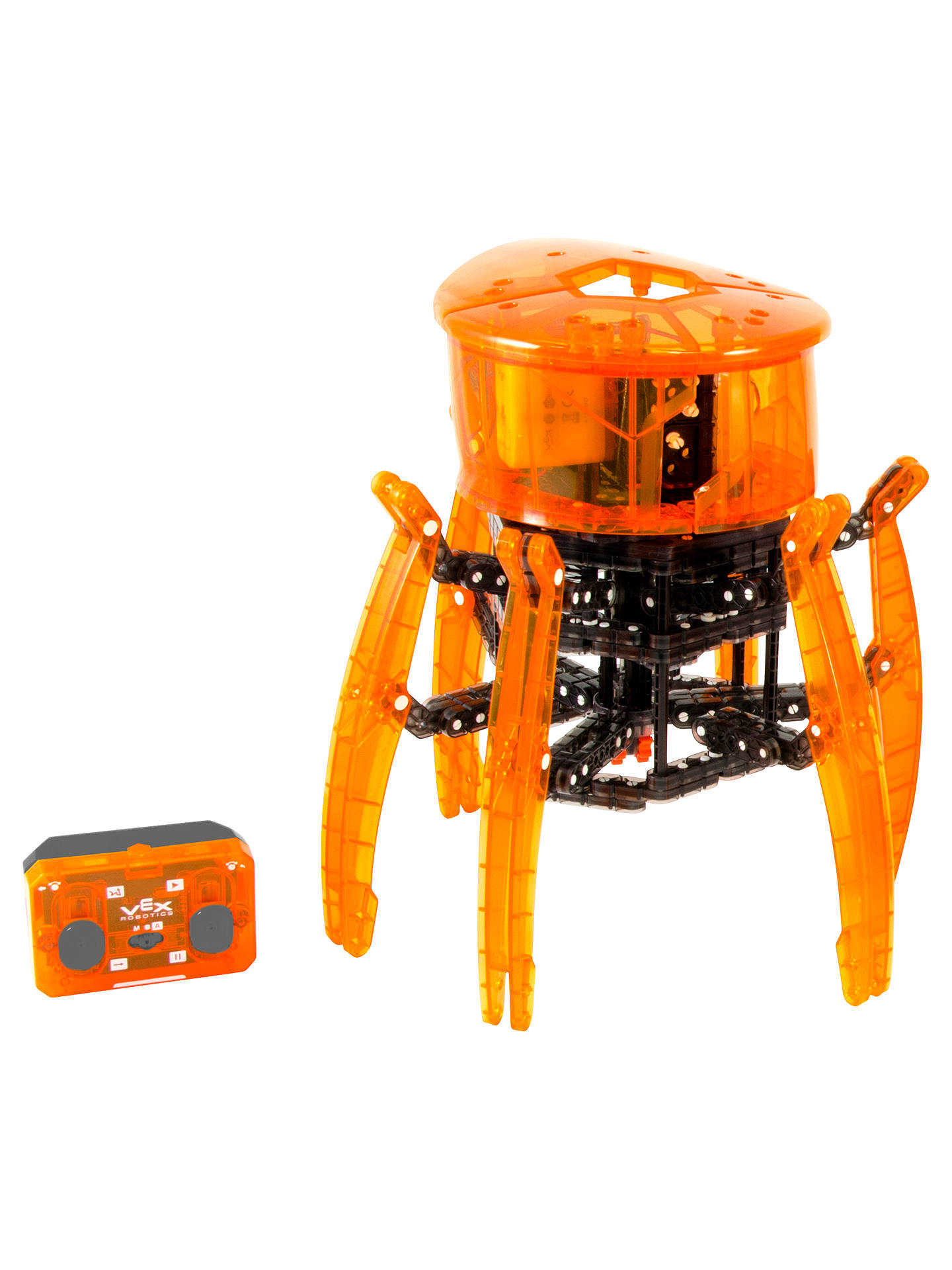 Hexbug Vex Robotics Spider Robot Construction Kit At John Lewis