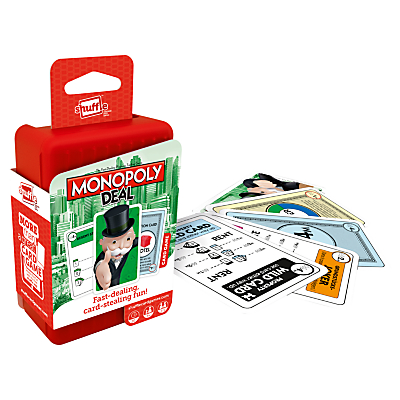 Image of Monopoly Deal Shuffle Card Game