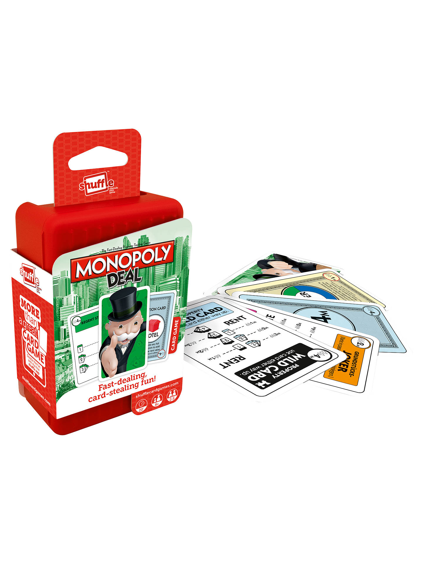 BuyMonopoly Deal Shuffle Card Game Online at johnlewis.com