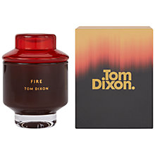 Buy Tom Dixon Fire Scented Candle, Medium Online at johnlewis.com