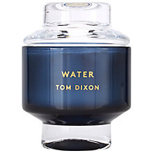 Buy Tom Dixon Water Scented Candle, Large Online at johnlewis.com