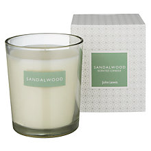 Buy John Lewis Sandalwood Boxed Candle Online at johnlewis.com