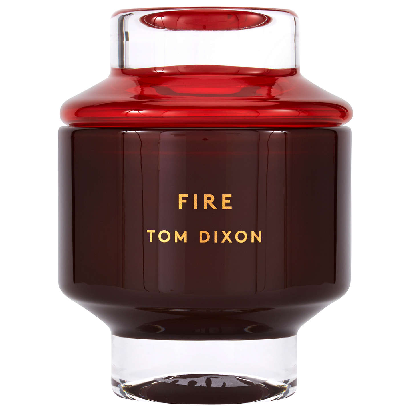 BuyTom Dixon Fire Scented Candle, Large Online at johnlewis.com