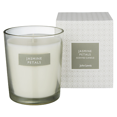 John Lewis Jasmine Petals Boxed Candle