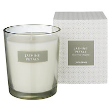 Buy John Lewis Jasmine Petals Boxed Candle Online at johnlewis.com