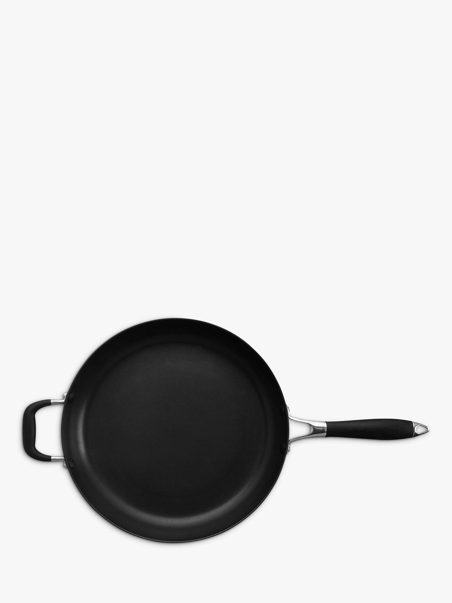 Buy John Lewis & Partners 'The Pan' Aluminium Non-Stick Frying Pan With Helper Handle, 32cm Online at johnlewis.com