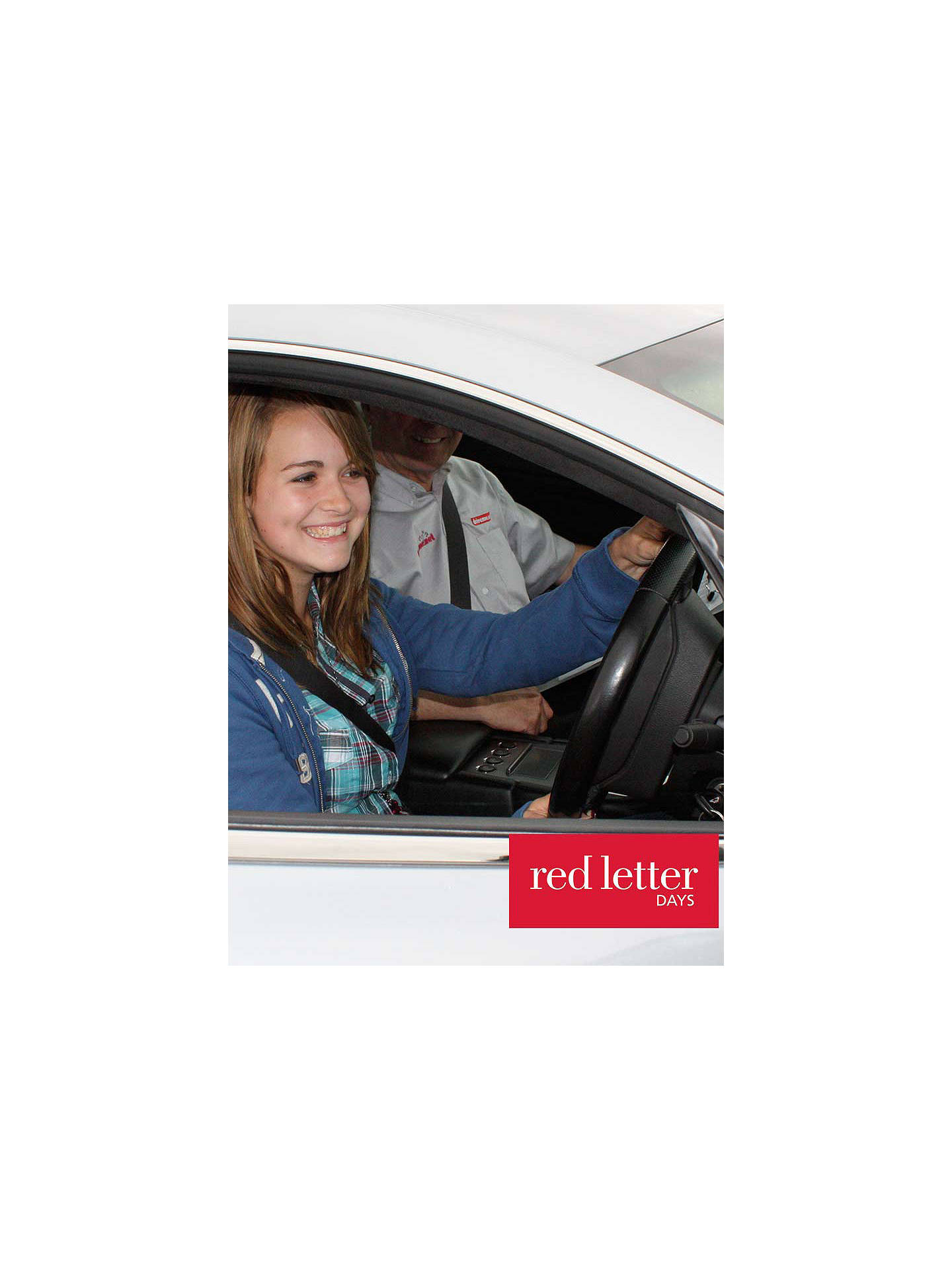 BuyRed Letter Days Kids Aston Martin Driving Experience Online at johnlewis.com
