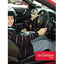 Buy Red Letter Days Kids Ferrari Driving Experience Online at johnlewis.com