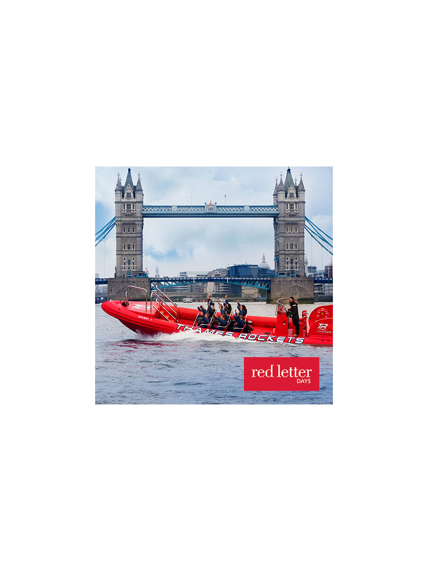 Buy Red Letter Days Powerboating On The Thames For 2 Online at johnlewis.com