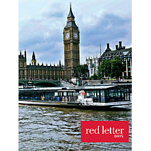 Buy Red Letter Days Sunday Thames Jazz Cruise for Two Online at johnlewis.com