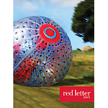 Buy Red Letter Days Aqua Zorbing Online at johnlewis.com