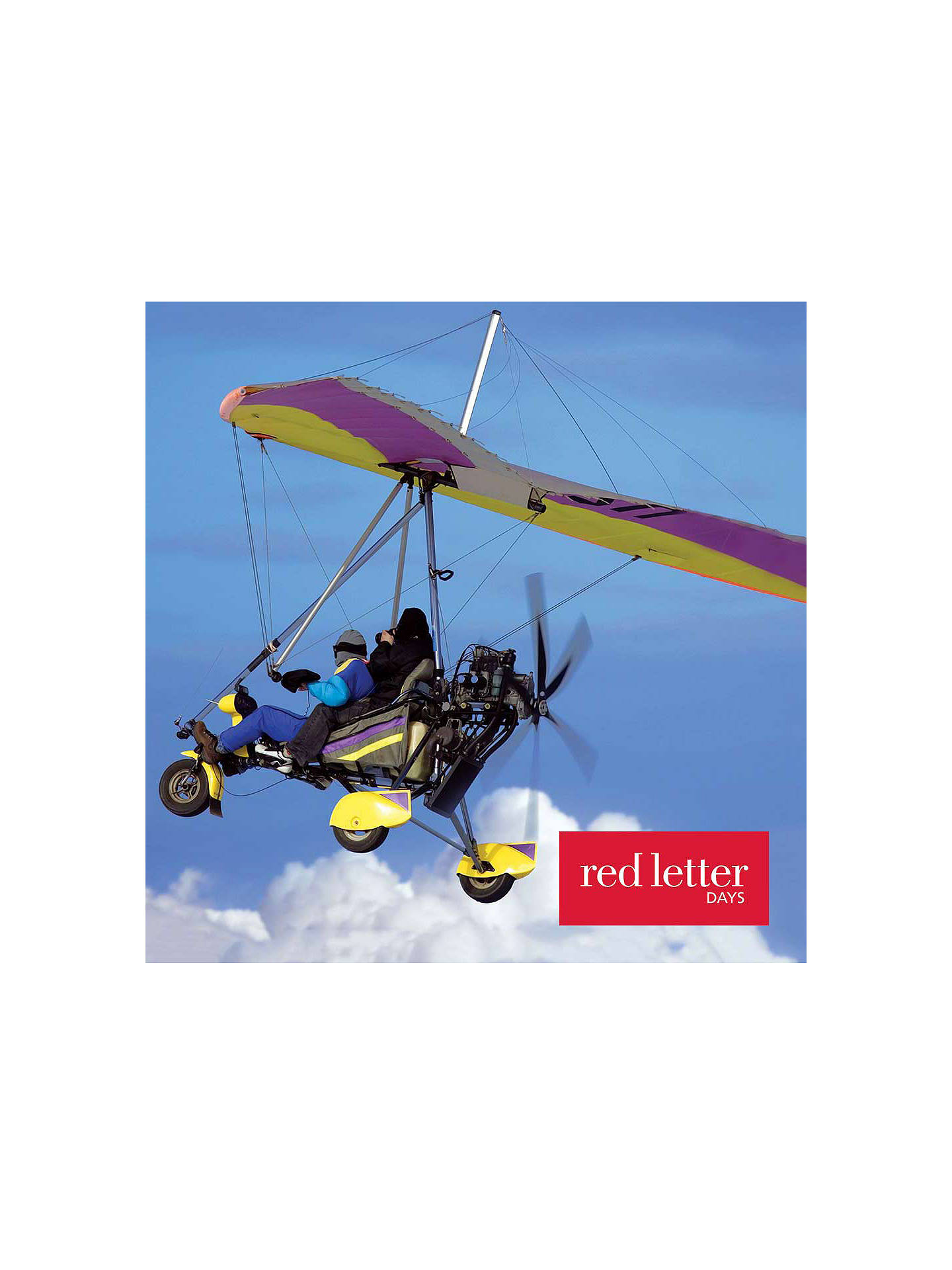 Buy Red Letter Days Microlight Flying Online at johnlewis.com
