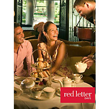 Buy Red Letter Days Luxury Afternoon Tea for 2 Online at johnlewis.com