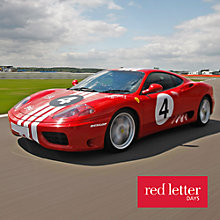 Buy Red Letter Days Ferrari Thrill Circuits Online at johnlewis.com
