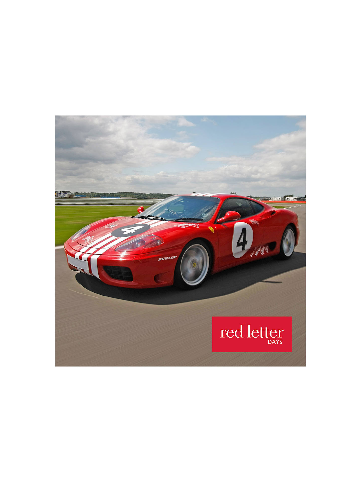 Red Letter Days Ferrari Thrill Circuits At John Lewis Partners Design Online Buyred