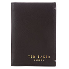 Buy Ted Baker Zacks Credit Card Holder, Black Online at johnlewis.com