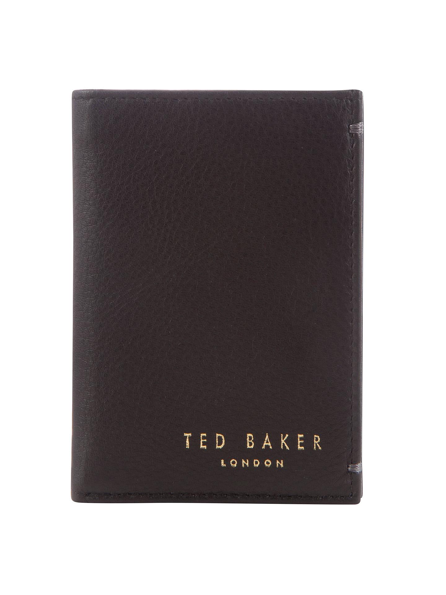 2bff8b37e1ca Buy Ted Baker Zacks Credit Card Holder, Black Online at johnlewis.com ...
