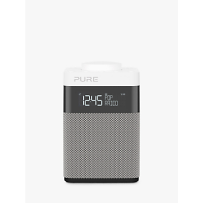 Image of Pure Pop Mini DAB/FM Portable Digital Radio, Grey