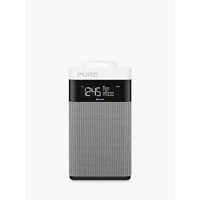 Image of Pure Pop Midi DAB/FM Bluetooth Portable Digital Radio, Grey