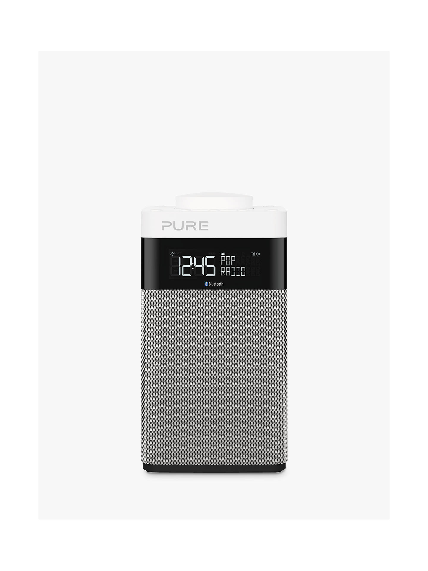 Buy Pure Pop Midi DAB/FM Bluetooth Portable Digital Radio, Grey Online at johnlewis.com