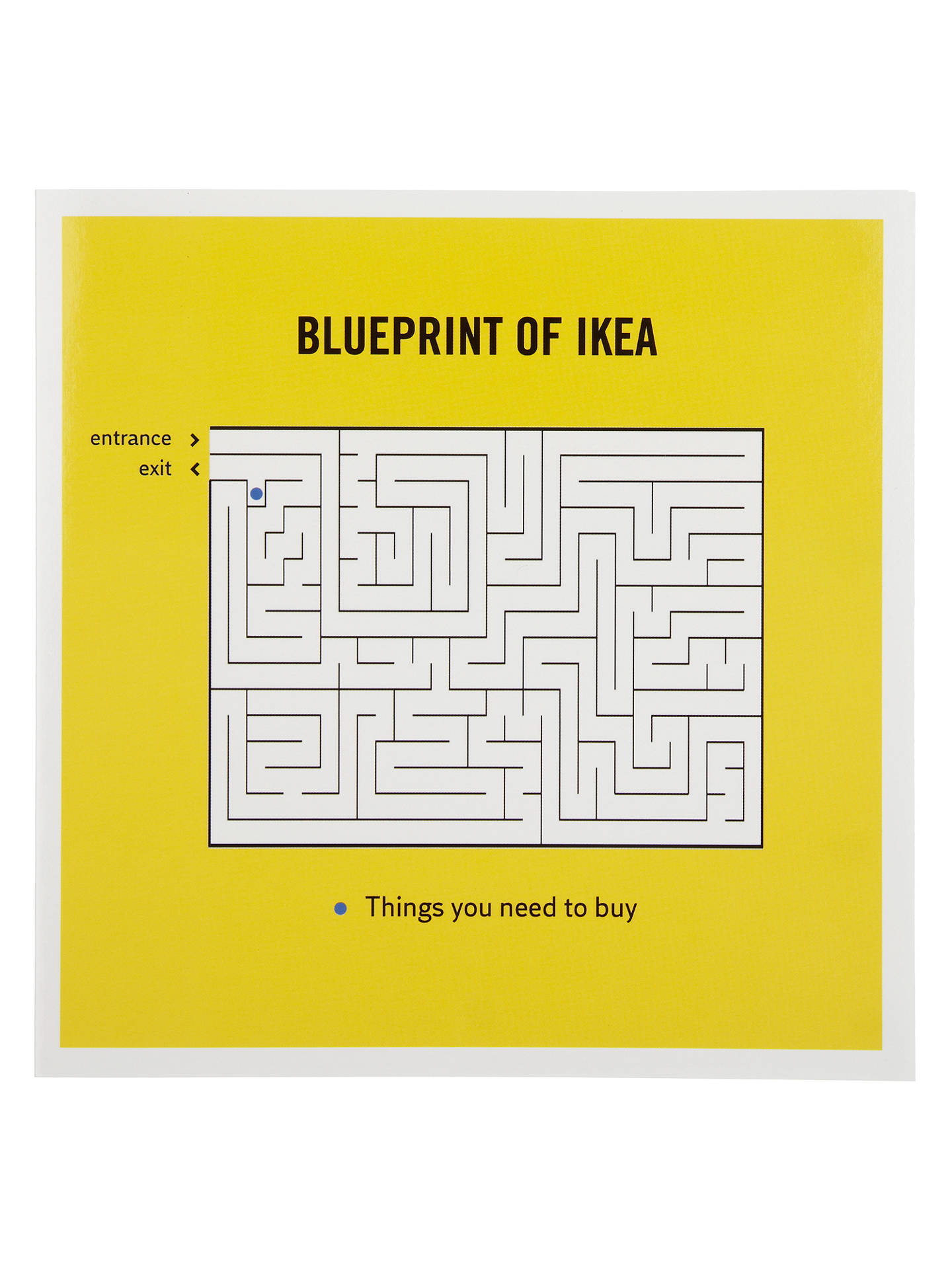 Woodmansterne Ikea Greeting Card At John Lewis Partners