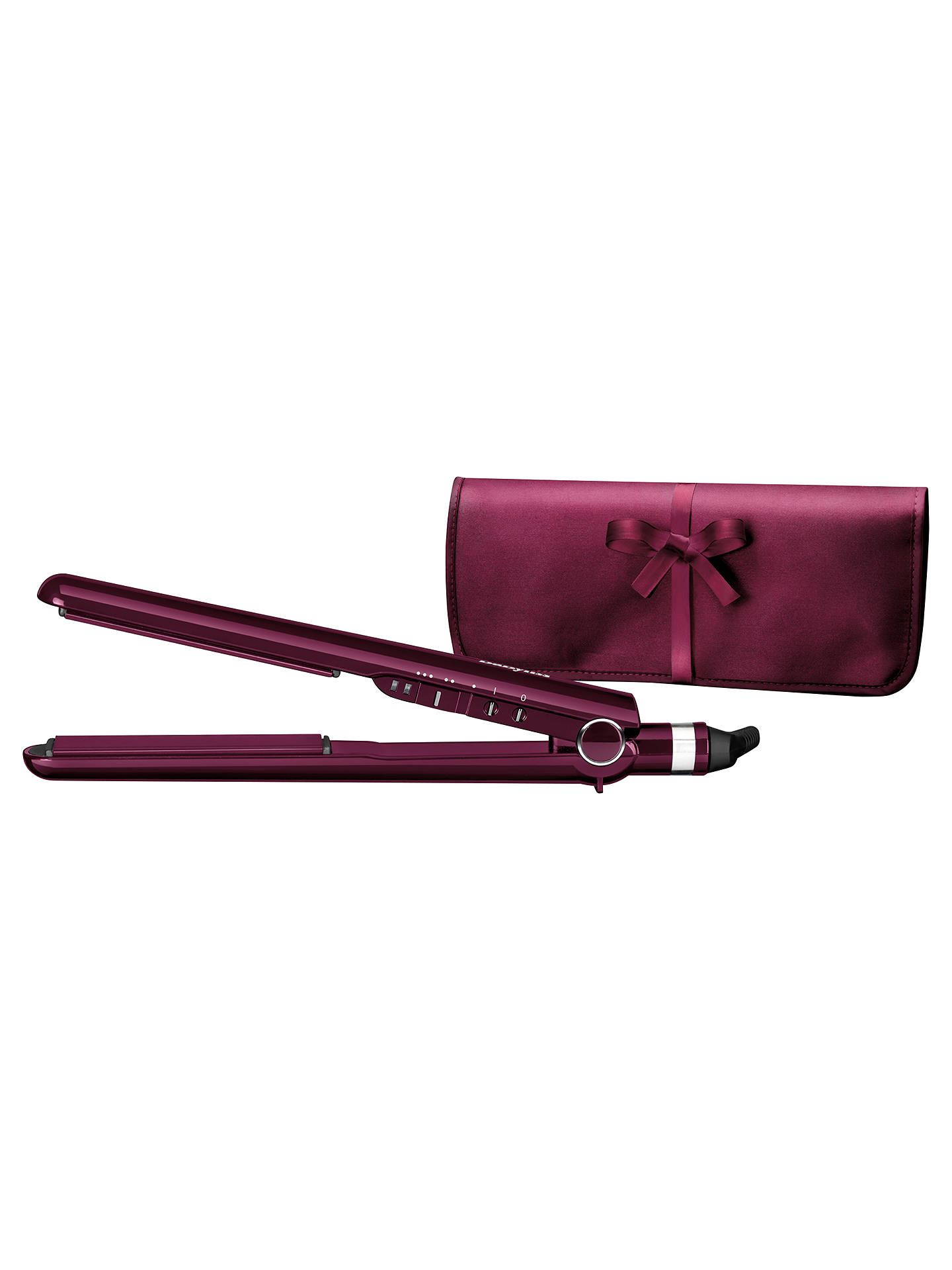 Buy BaByliss 2198KU Pro 235 Elegance Hair Straighteners, Raspberry Online at johnlewis.com