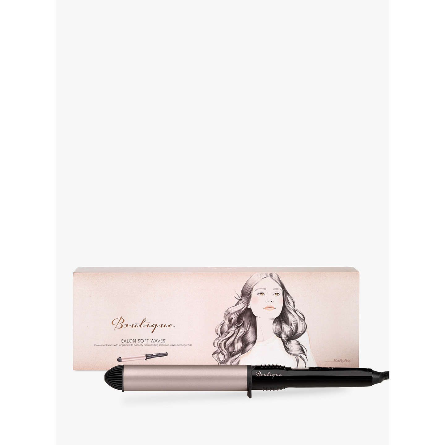 BuyBaByliss Boutique Salon Soft Waves Hair Styler Online at johnlewis.com