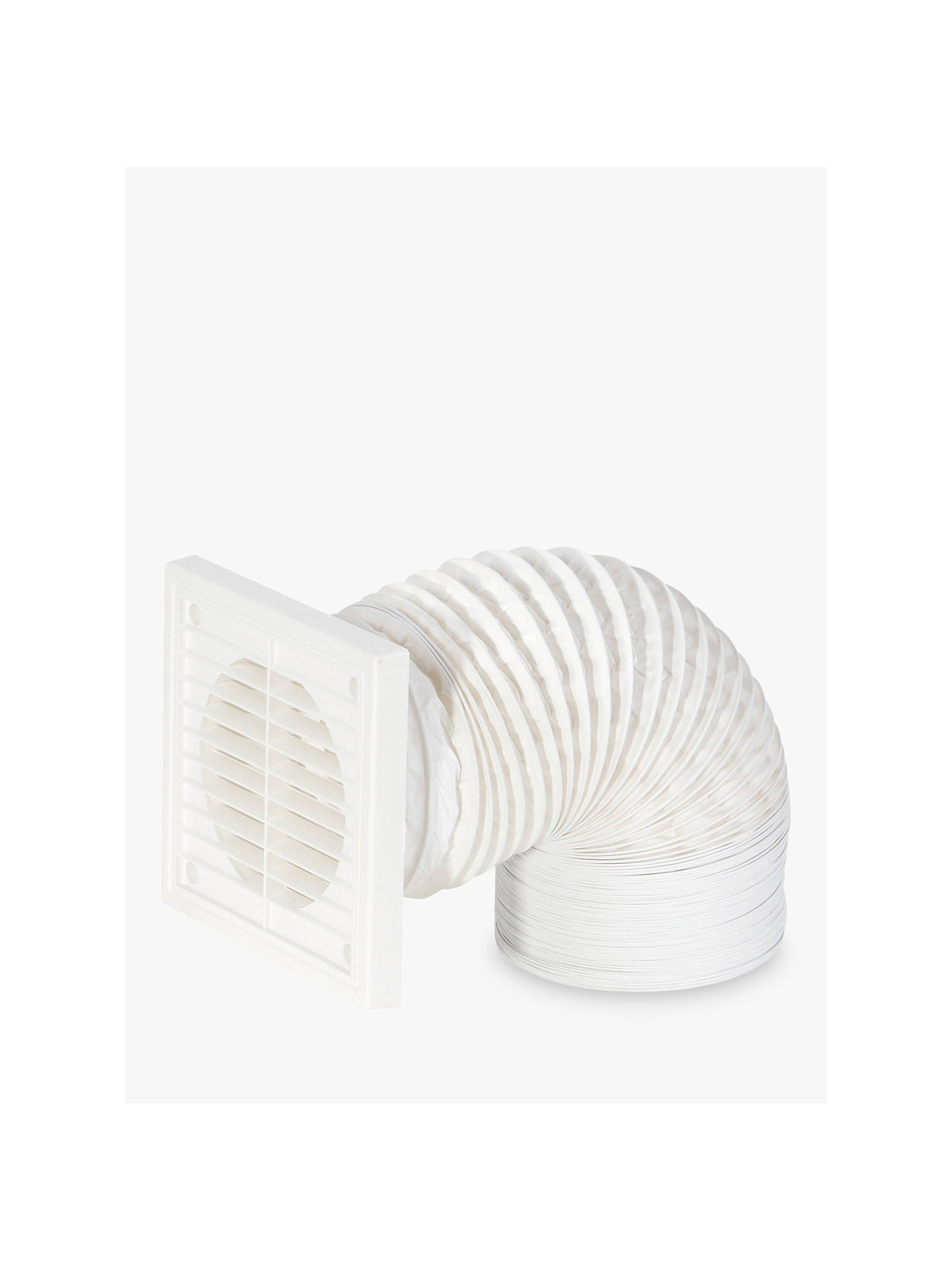 BuyJohn Lewis & Partners Venting Flexible Duct Kit, White Online at johnlewis.com