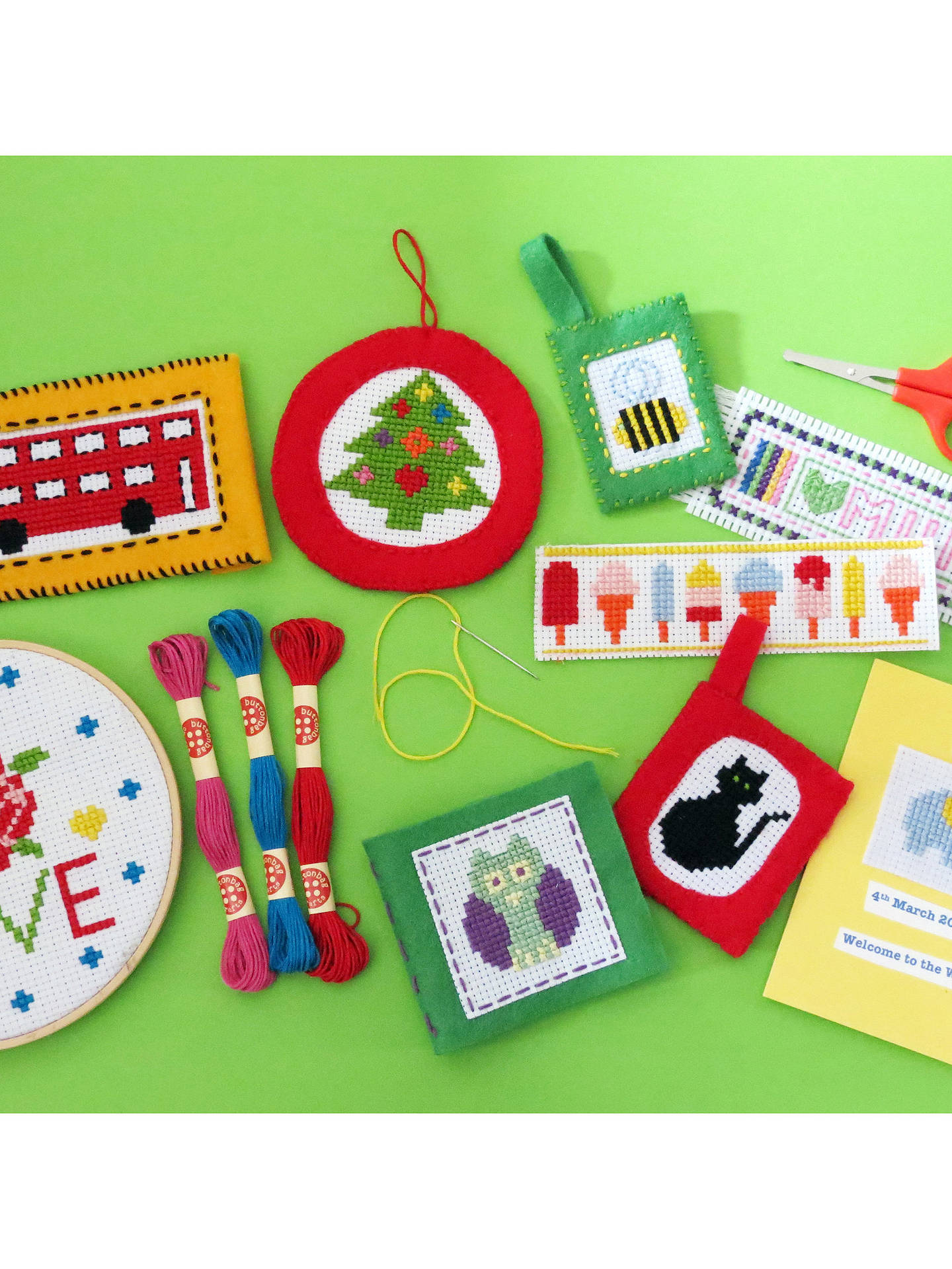 BuyBeginner's Cross Stitch Carry Kit Online at johnlewis.com