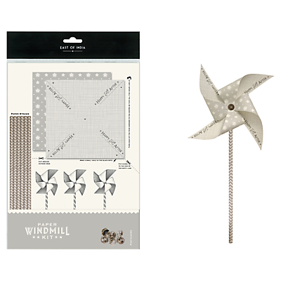 East of India 'Happy Ever After' Windmill, 28cm