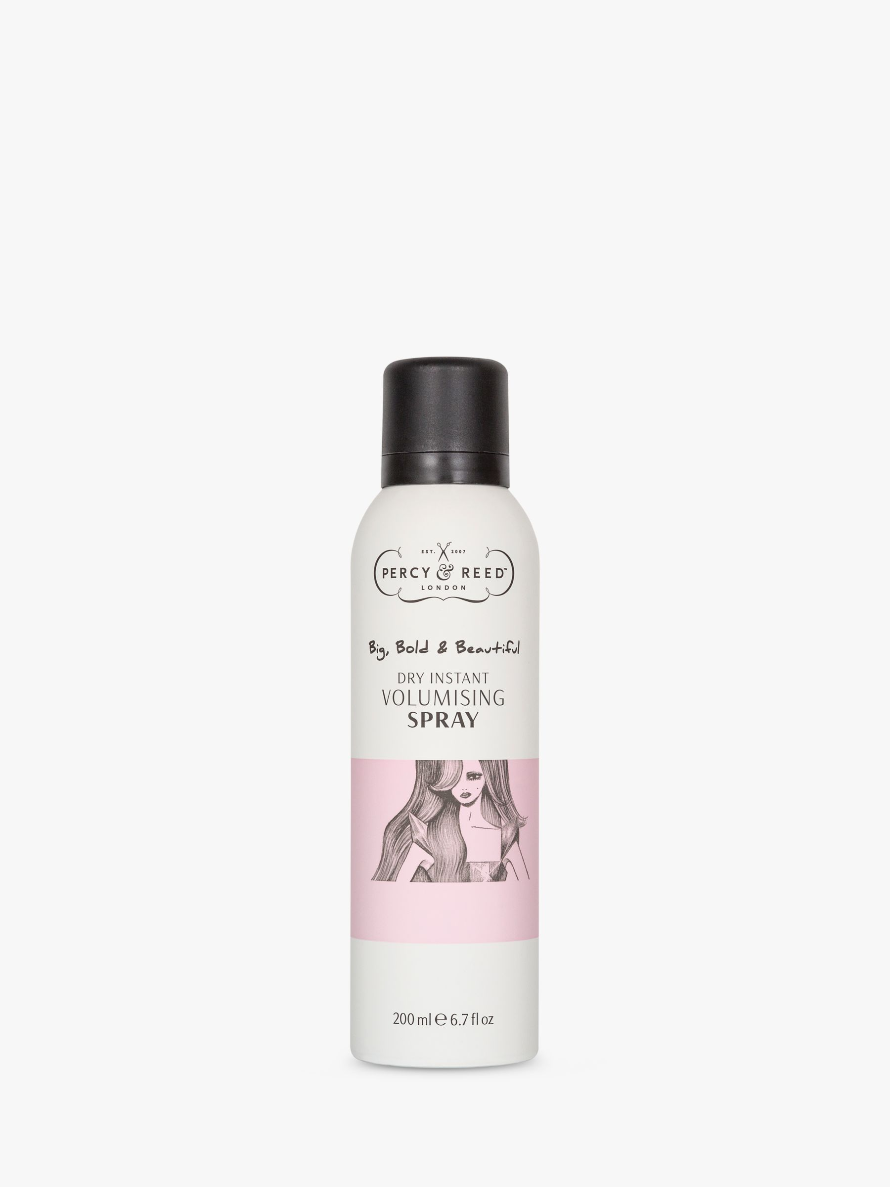 Percy & Reed Percy & Reed Big, Bold & Beautiful Dry Instant Volumising Spray, 200ml