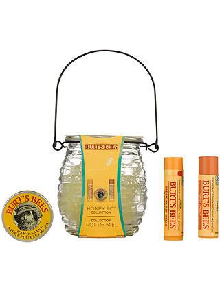 Buy Burts Bees Honey Pot Bodycare Gift Set Online at johnlewis.com