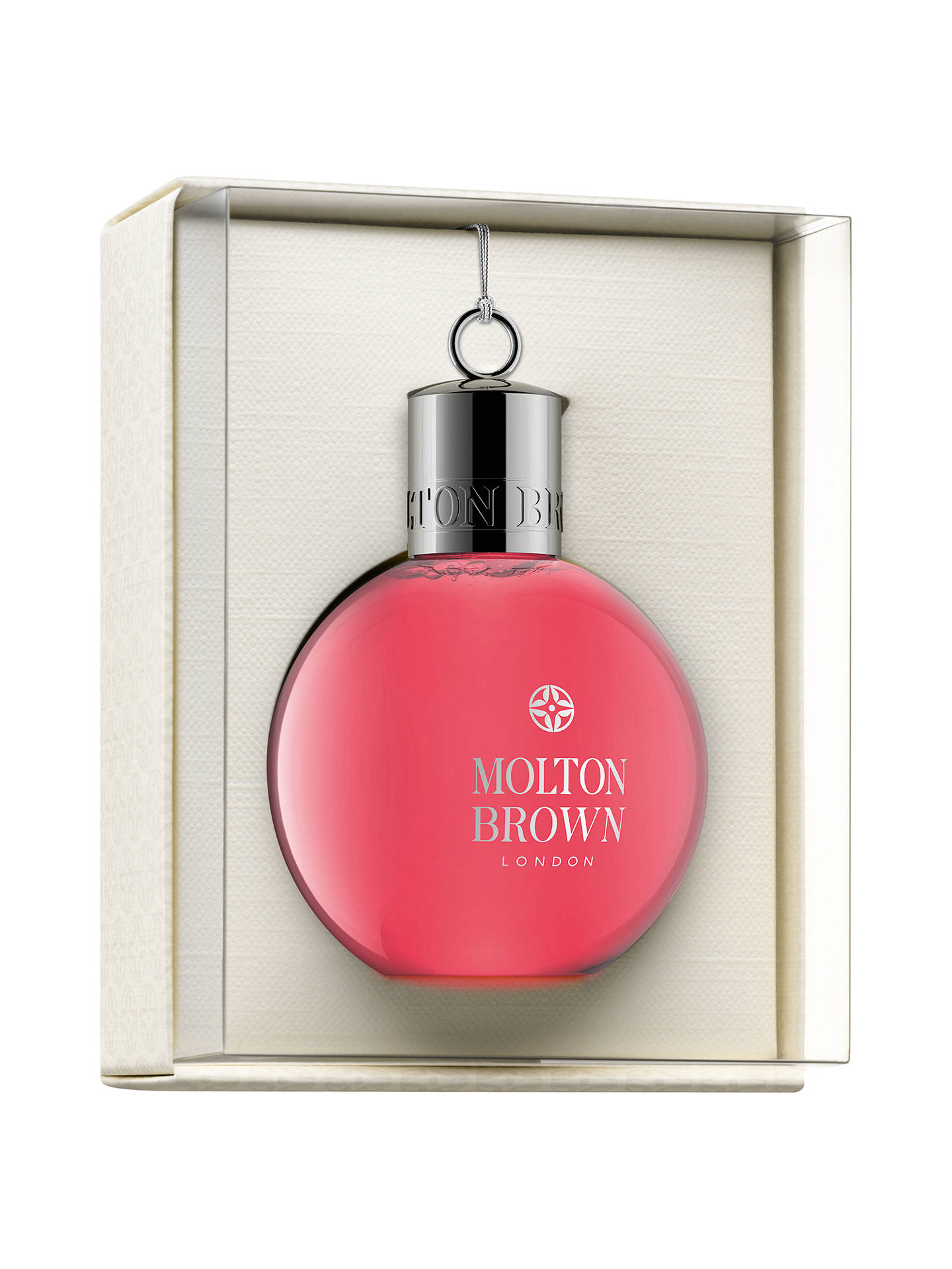 BuyMolton Brown Pink Pepperpod Body Wash Festive Bauble, 75ml Online at johnlewis.com