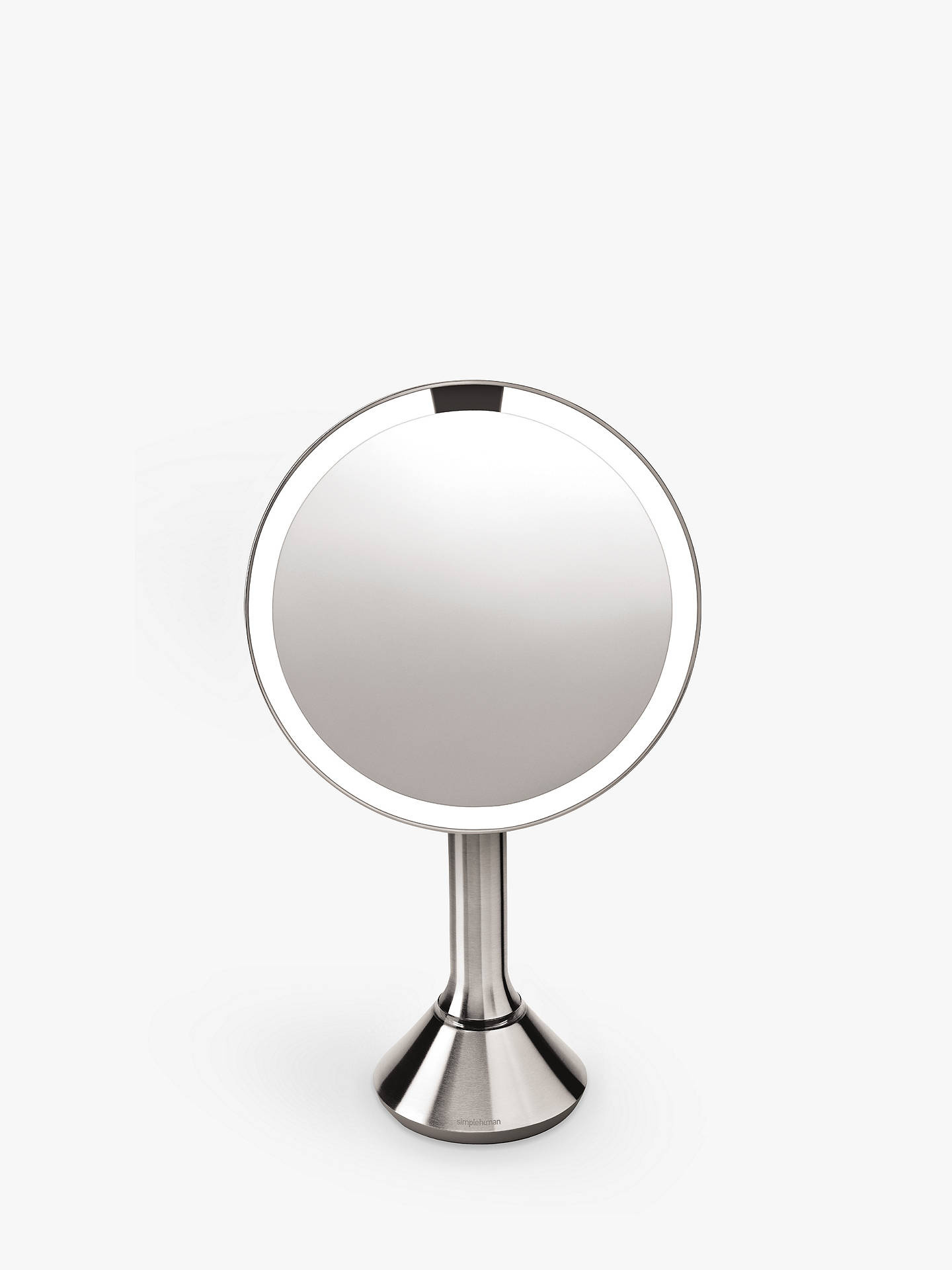 Buy simplehuman Sensor Magnifying Pedestal Mirror Online at johnlewis.com