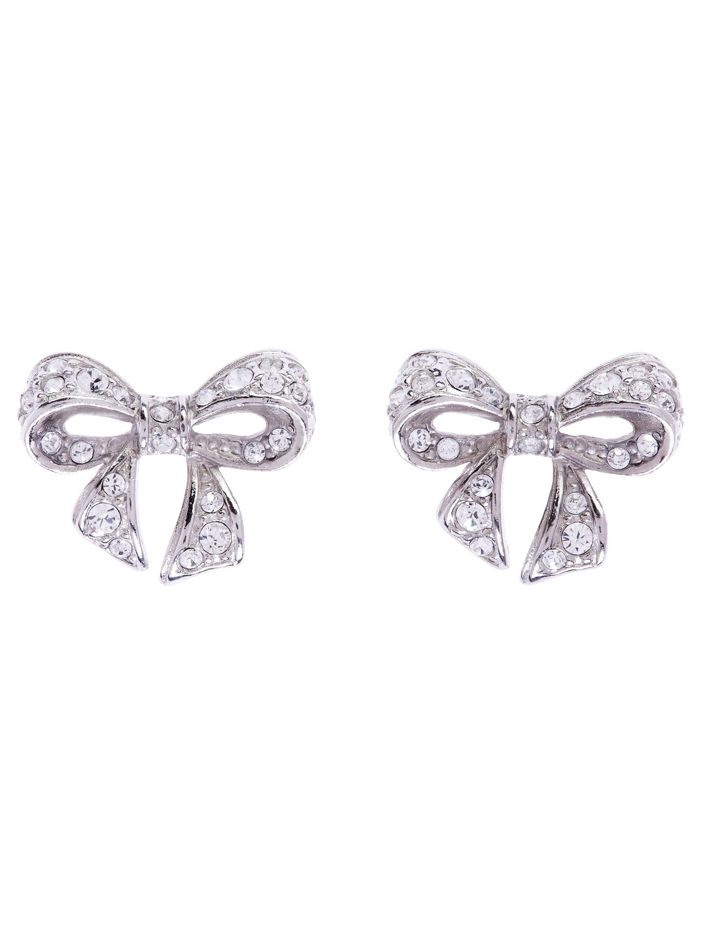 a56ab7affde1 Buy Ted Baker Pepe Pave Crystal Bow Stud Earrings