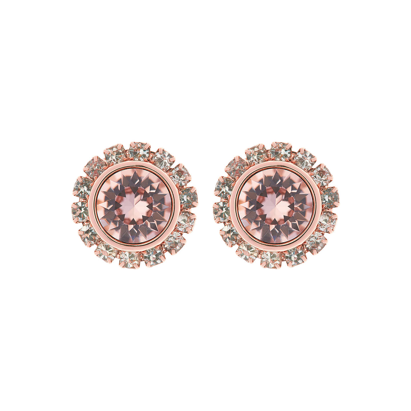 Ted Baker Sully Swarovski Crystal Stud Earrings at John Lewis